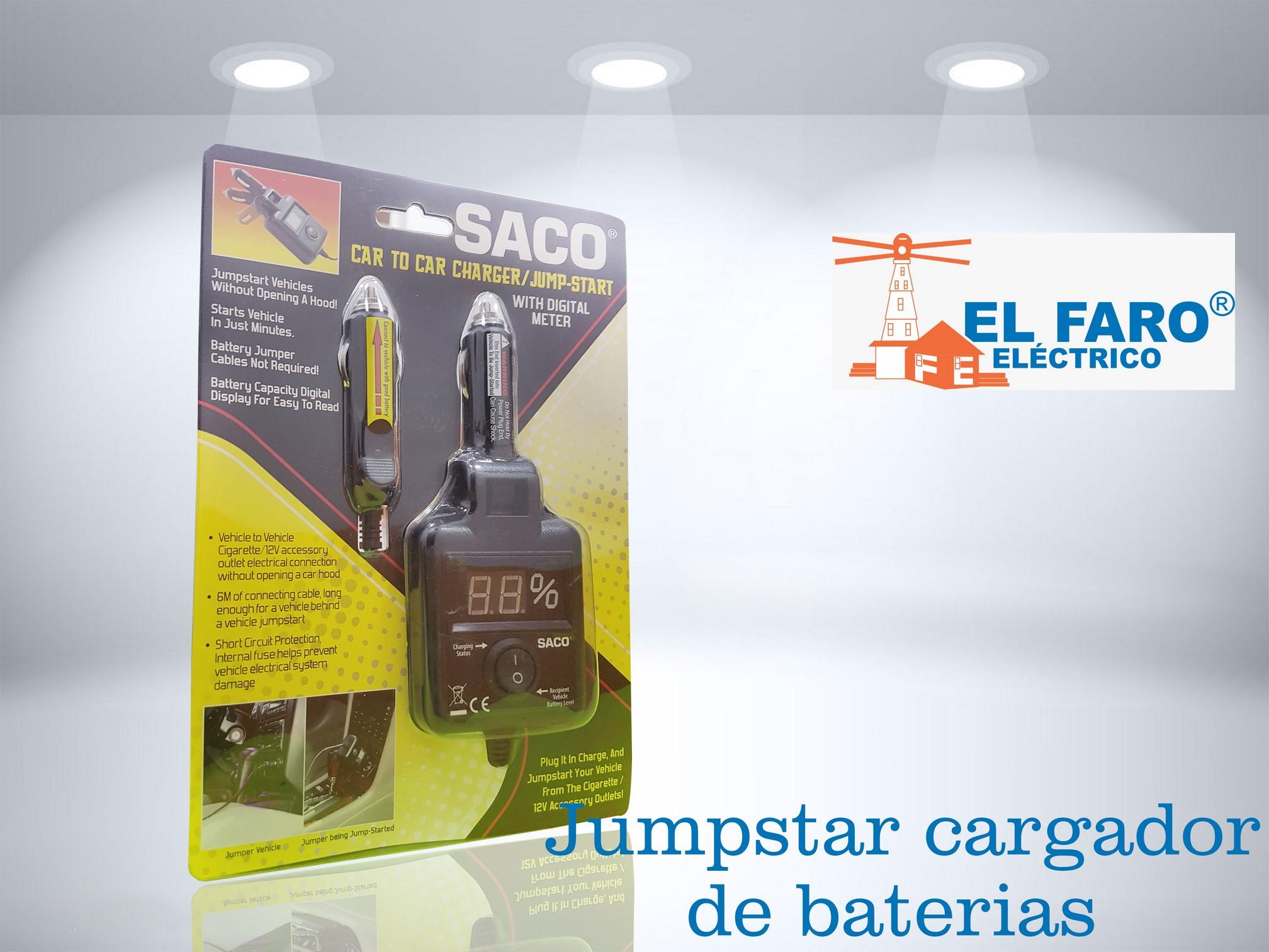 Jumpstar cargador de baterías