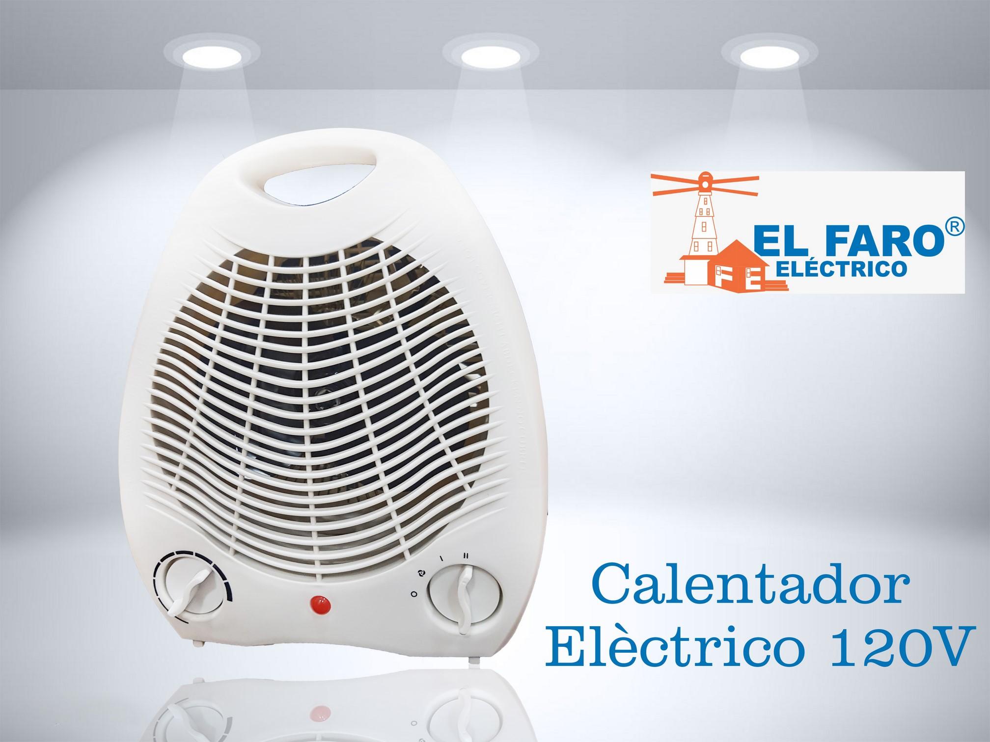 Calentador eléctrico 120V