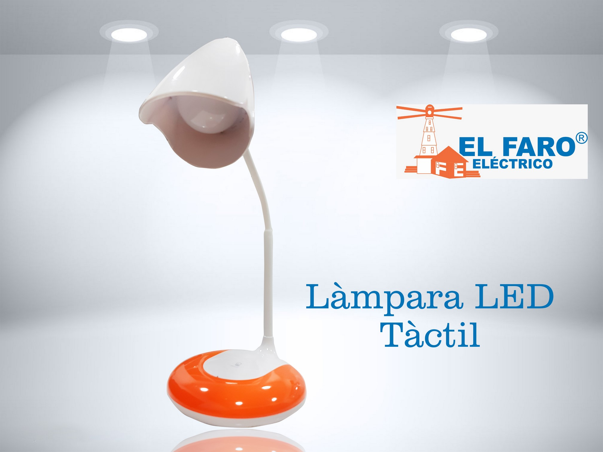 lámpara led táctil