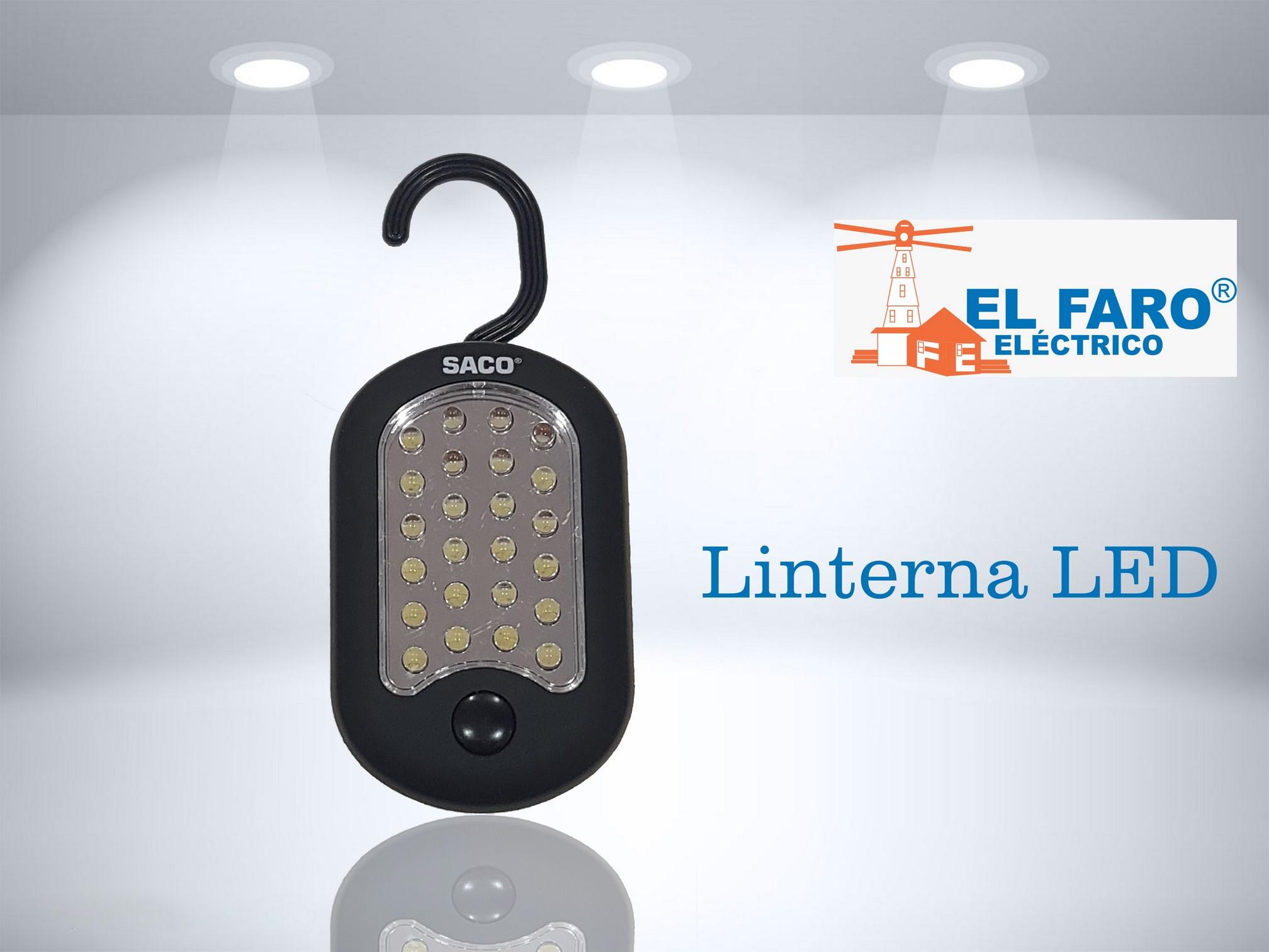 linterna LED