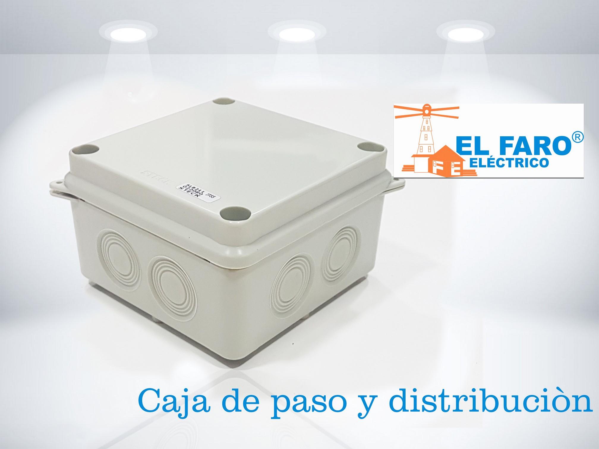 Caja de paso y distribución
