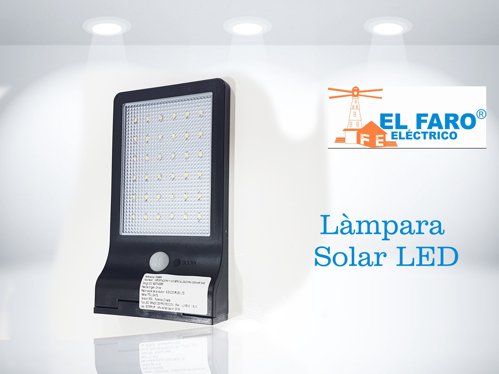 Làmpara solar LED 5.5v