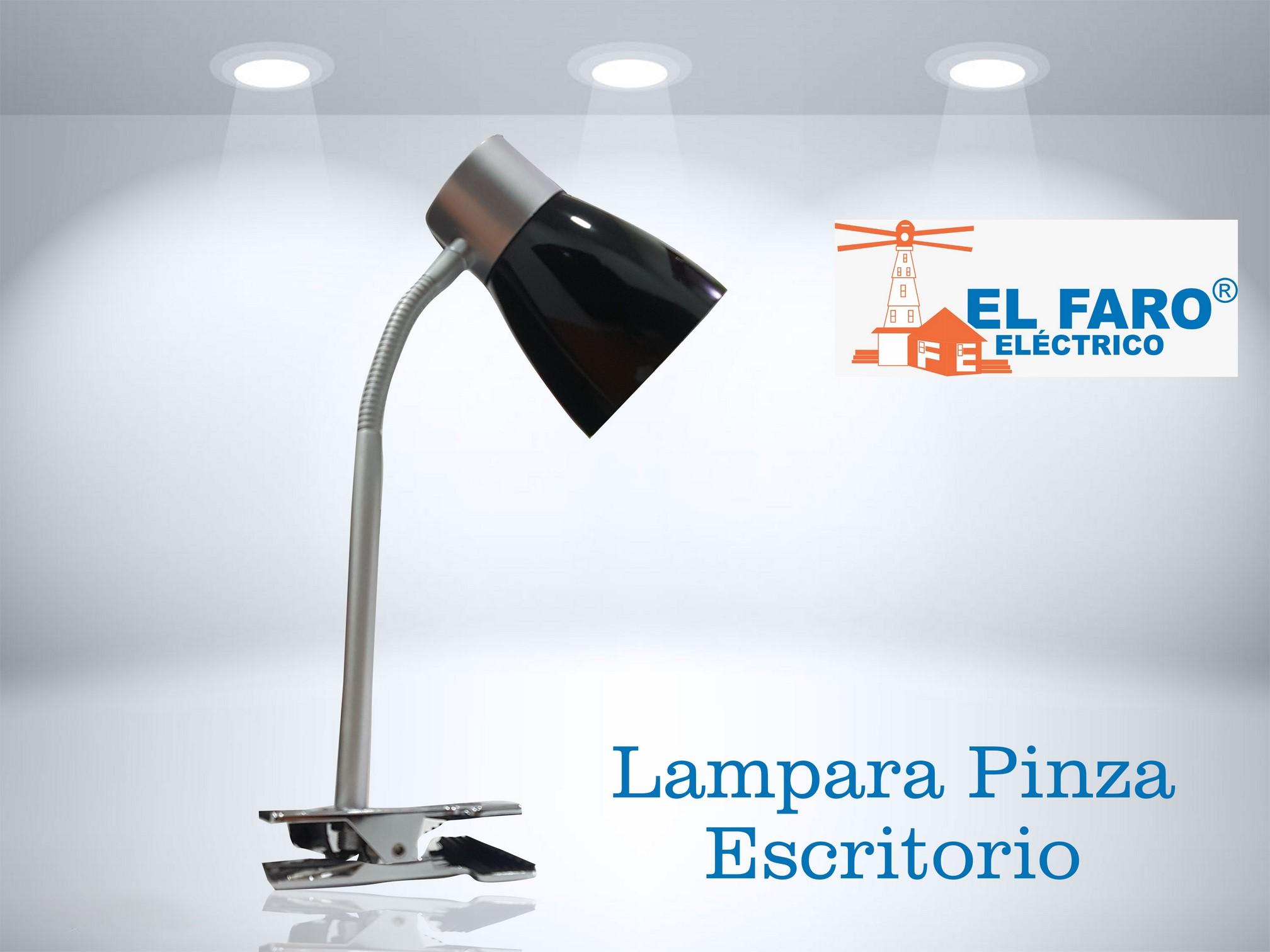 Lámpara de pinza para escritorio